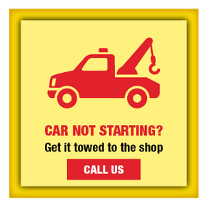 Car Not Starting? | Get it towed to the shop | Call Us