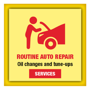 Routine Auto Repair | Oil changes and tune-ups | Services